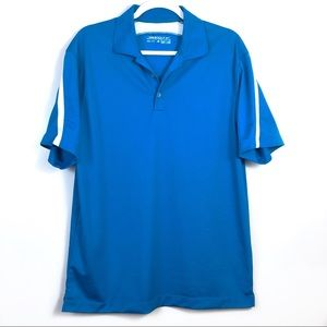 NikeGolf Dri-Fit Blue T-Shirt Size Medium